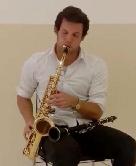 Saxofoon en klarinetles door Walther Pondman