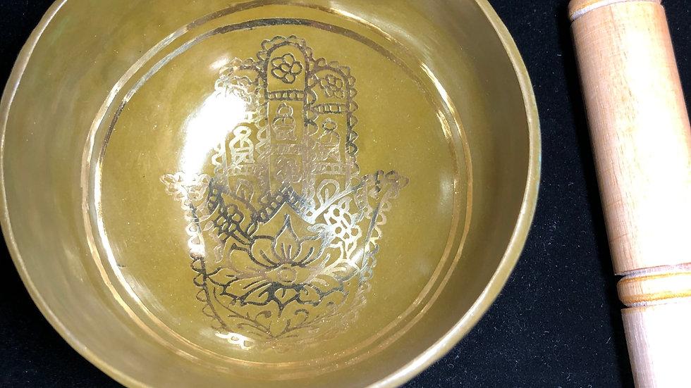 Hand Hammered Brass Singing Bowl