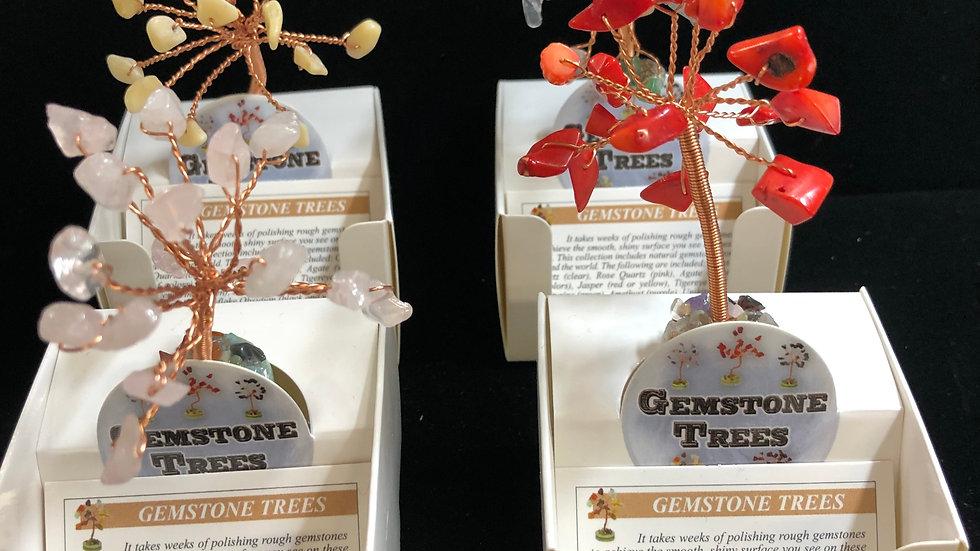 Mini Gemstone Trees