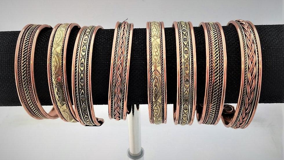 Copper with magnet Bracelet
