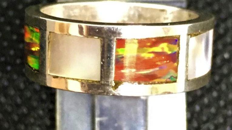 Custom Abalone Ring