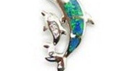 Opal inlay in Sterling Silver