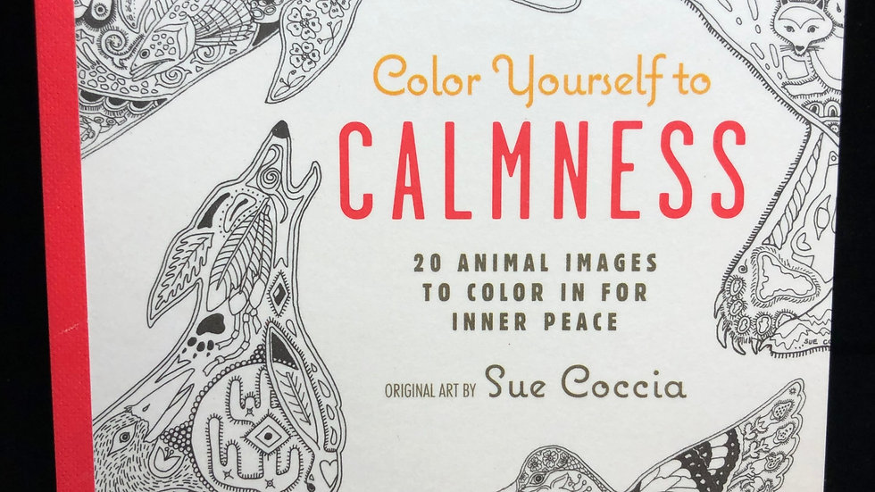 Color Yourself to Calmness
