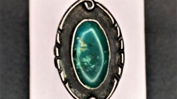 Green Turquoise Native American Ring