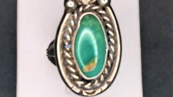 Old Pawn Green Manassa Turquoise
