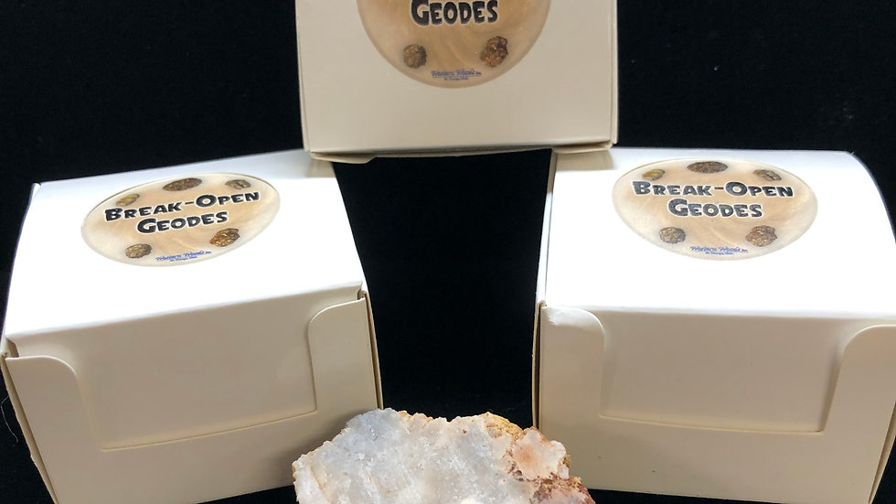 Break-Open Geodes