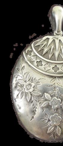 Robinson and McKewan silver locket