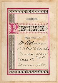 W. Robinson 1887