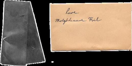Pure Molybdenum Foil