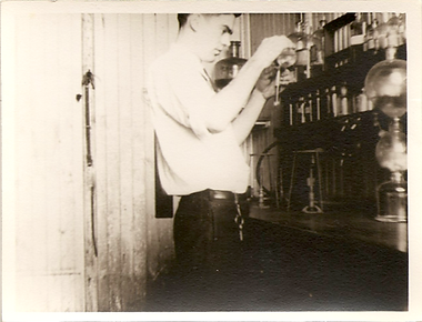 Harold Robinson at the Tiffany & Co lab in Newark NJ
