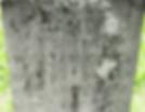 gravestone of James son of William Coles Scotch Plains NJ