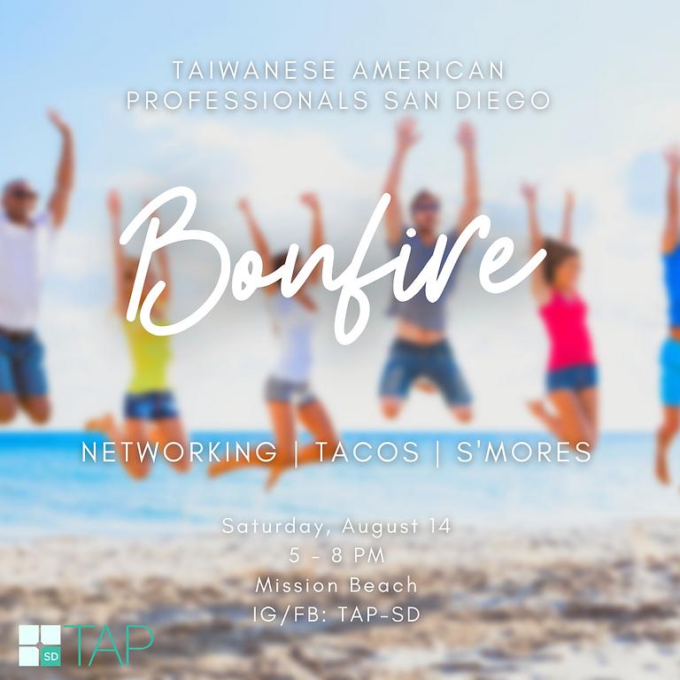 TAP-SD: Networking Beach Bonfire