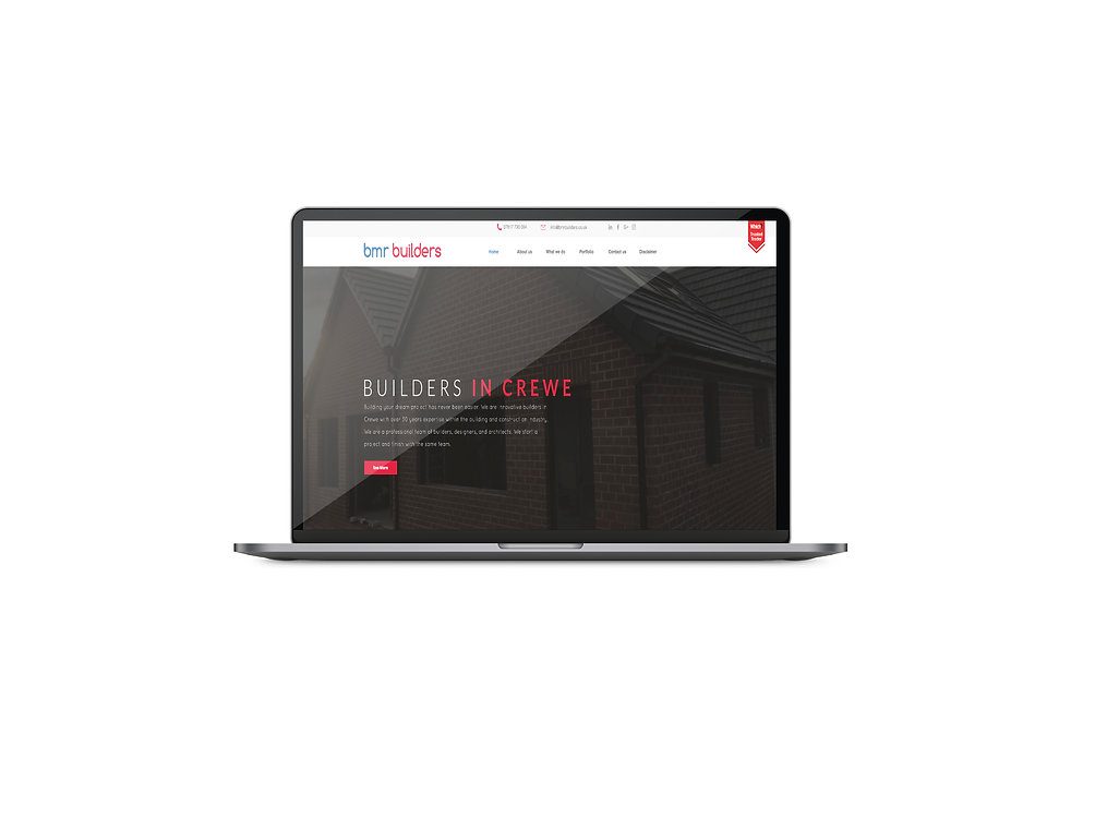 Bmr builders crewe | Crafted pixel Crewe | Website design in Crewe