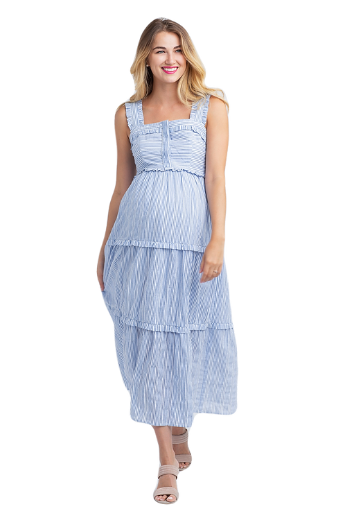 Nom Maternity Emma Dress | Stripe