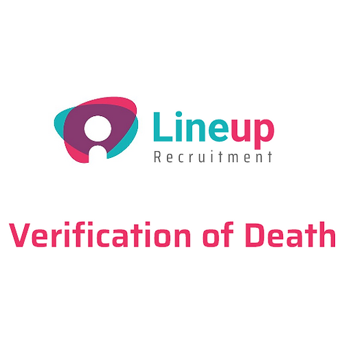 Verification of Death