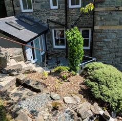 Garden & Steps