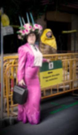 Griselda Ramon a Orationibus #SR d'Albert Arribas i Silvia Delagneau a partir de Santiago Rusiñol a la Sala Hiroshima