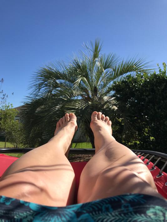 Can lying in the sun be an adventure?