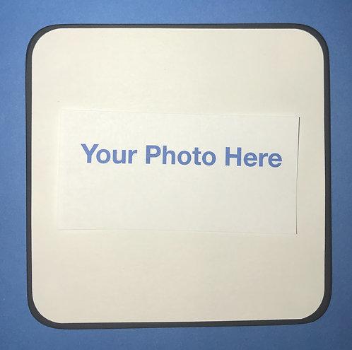 "4""4"" Custom Photo Squares - single"