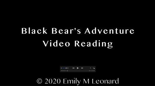 Black Bear's Adventure Video Reading