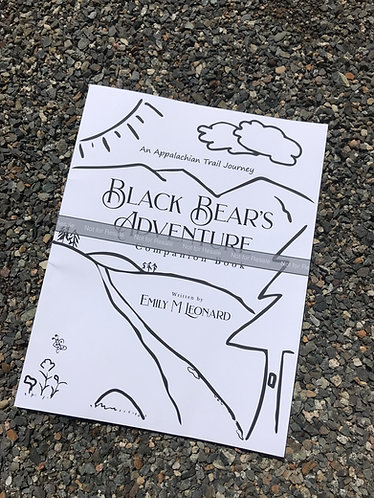 Black Bear's Adventure Companion Book