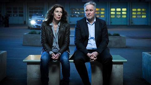 Bibi Fellner und ihr Kollege Moritz Eisner. | Bild: ARD Degeto/ORF / Hubert Mican