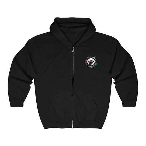 Unisex Heavy Blend™ Full Zip Hooded Sweatshirt