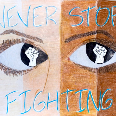 """Never Stop Fighting"""