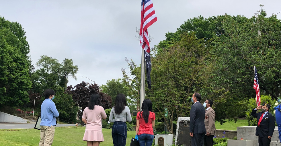Memorial Day Donation to the Glen Cove Veterans of Foreign Wars Hall