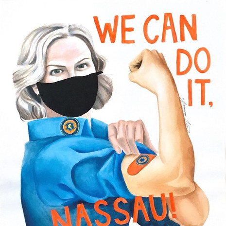 """We Can Do It, Nassau!"""