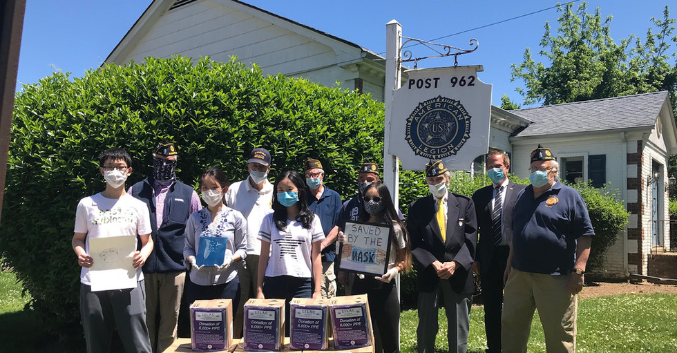 Donation of 1,700 PPE to Veterans Organizations