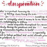 """Inspiration"" Calligraphy"