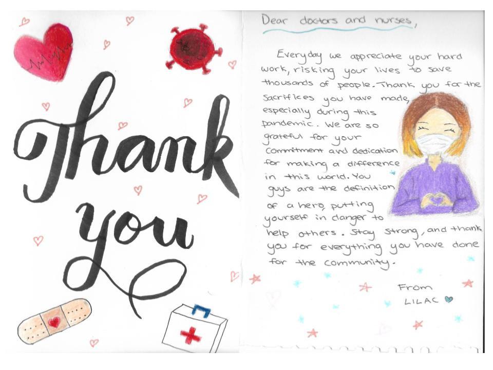 """Thank You"" By Morgan Passolo"