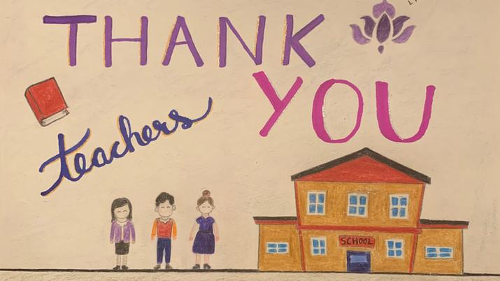 """Thank You Teachers"""