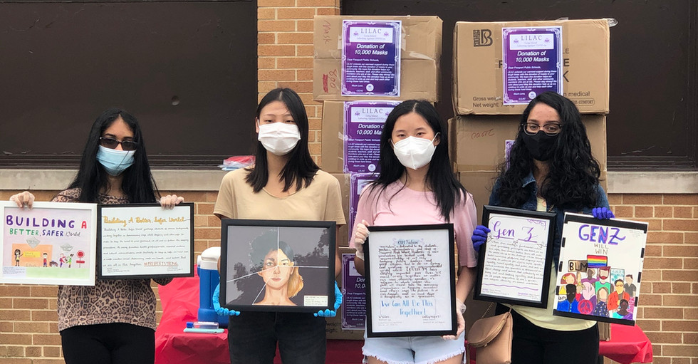 TYWC Mask Donation to Freeport Union Free School District