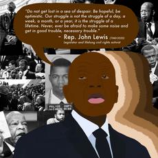 """Rest in Peace Rep. John Lewis"""