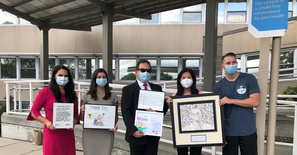 TYWC Artwork Donation to Syosset Hospital