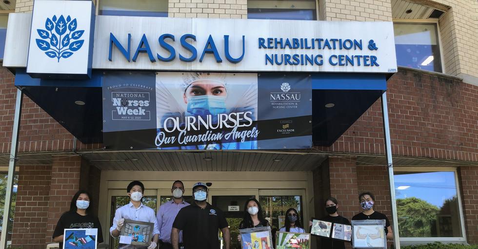 Donating to the Nassau Rehabilitation & Nursing Center