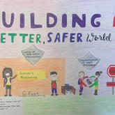 """Building a better safer world"" Artwork"