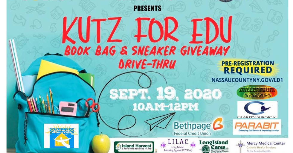 Drive Thru Back to School Supply Giveaway