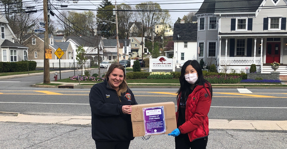 Donating to the Oyster Bay Fire Department