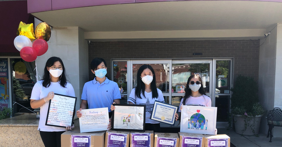 PPE Donation to the Regency Assisted Living