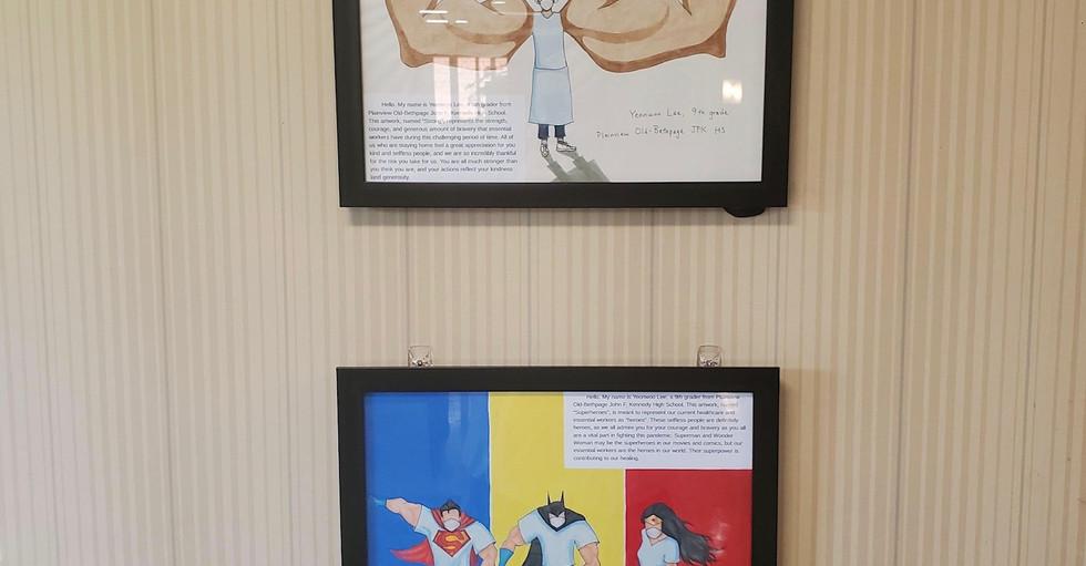 TYWC Artwork Showcased at the Nassau Rehabilitation and Nursing Center