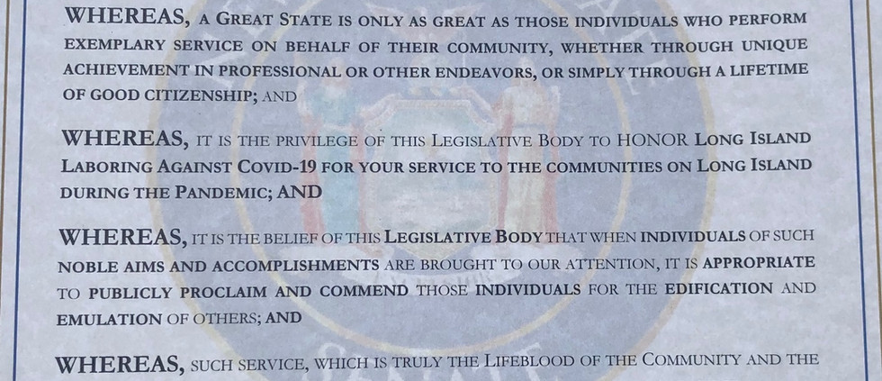 A Proclamation from Senator Kevin Thomas