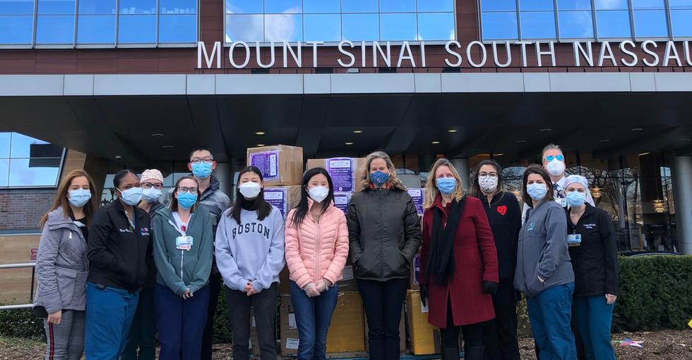 Holiday Gift to Mount Sinai South Nassau Hospital