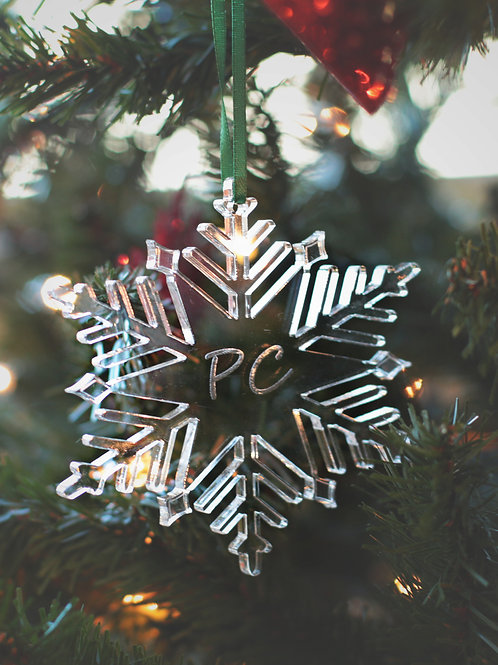 PC Snowflake Ornament