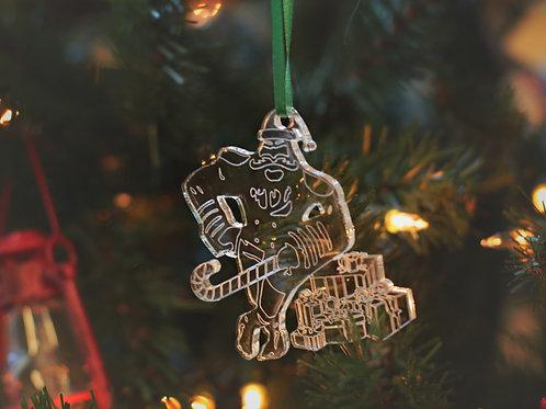 Commodore Santa Ornament