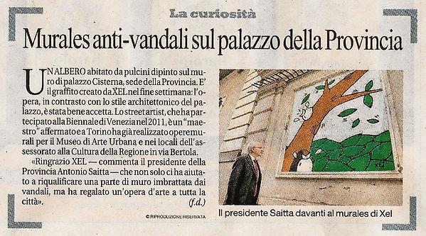 La Repubblica Palazzo Cisterna ottobre 2