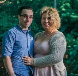 couple's anniversary photo