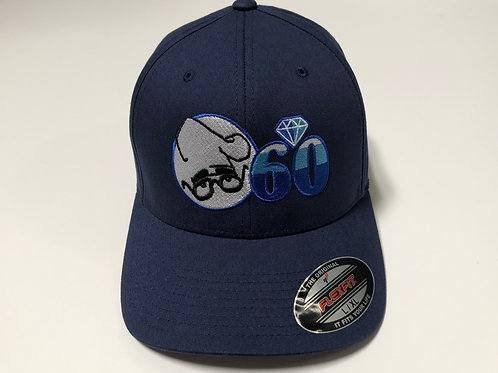 60th Anniversary Baseball Flexfit - Blue